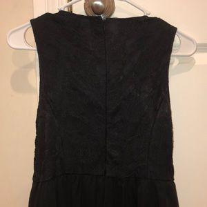 Forever 21 Dresses - black beaded lace dress